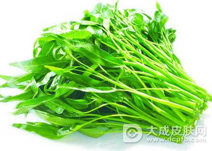 好肌肤吃出来 绿叶蔬菜帮你祛痘