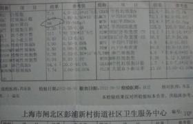 网织红细胞计数(RC)